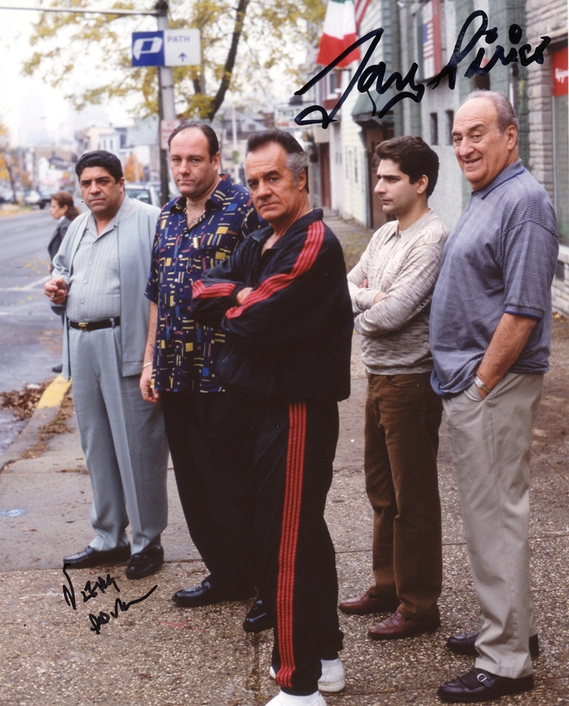 Tony Sirico & Jerry Adler Signed Photo