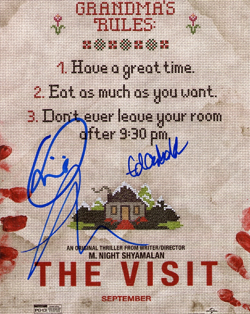 The Visit Signed Photo