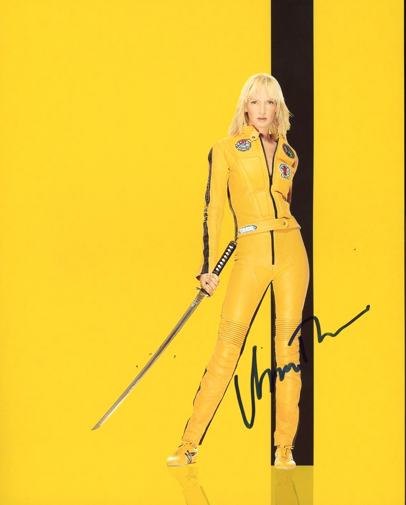 Uma Thurman Signed Photo