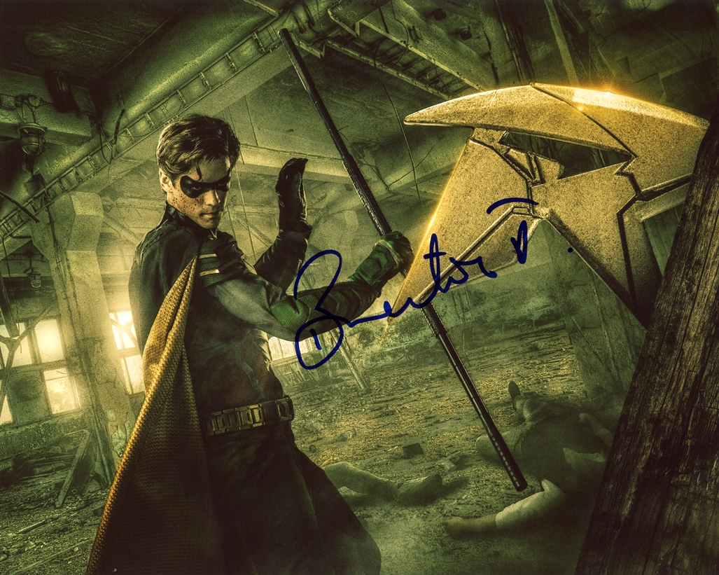 Brenton Thwaites Signed Photo