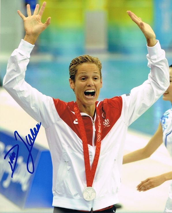 Dara Torres Signed Photo