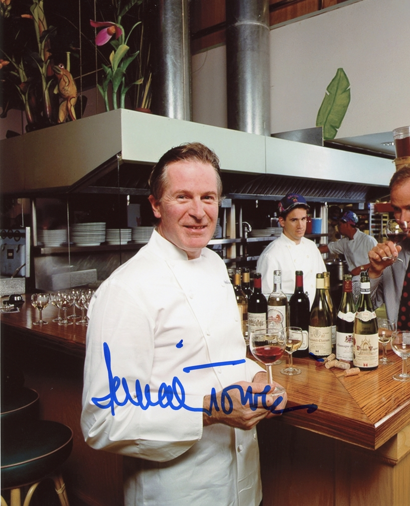Jeremiah Tower Signed Photo