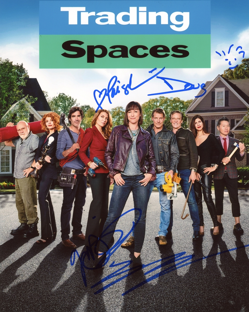 Trading Spaces Signed Photo