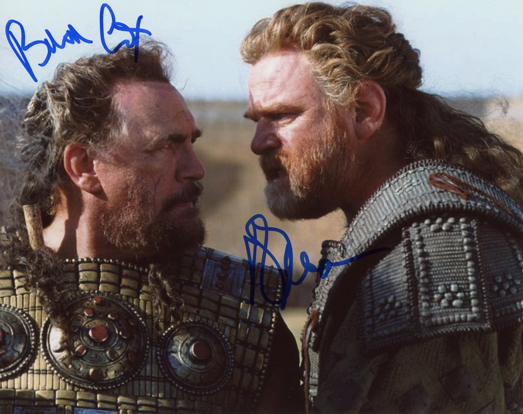 Brendan Gleeson & Brian Cox Signed Photo