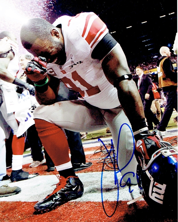 Justin Tuck Signed Photo