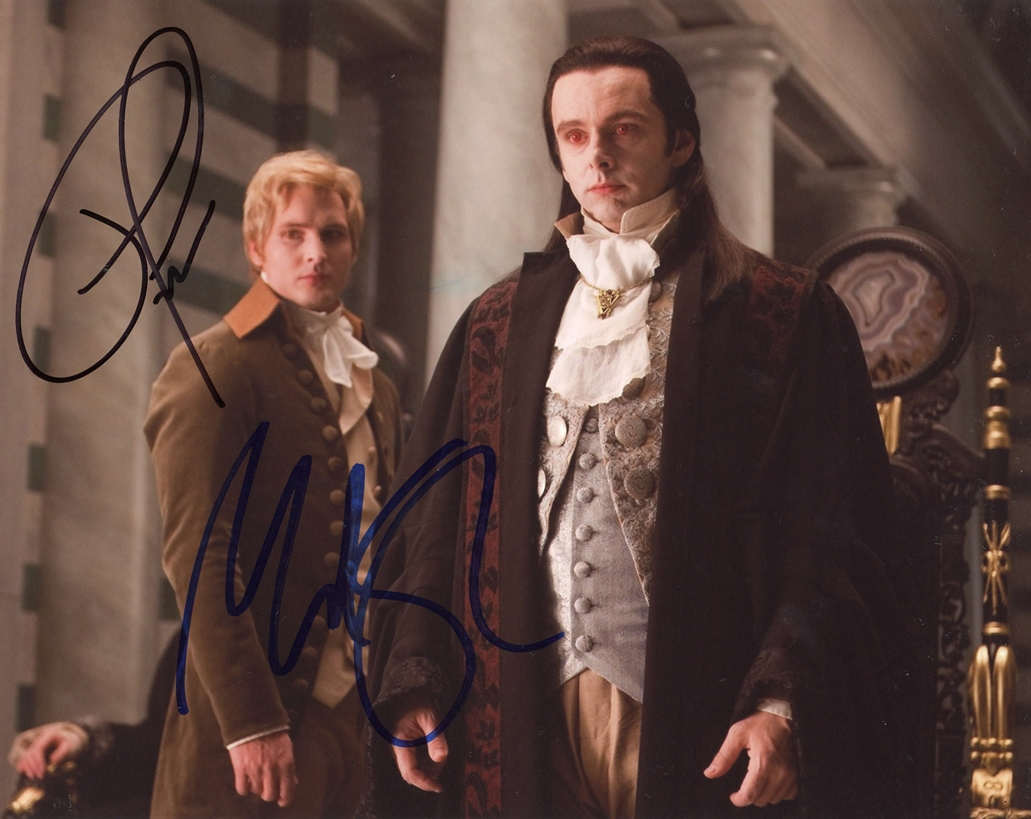 Michael Sheen & Peter Facinelli Signed Photo