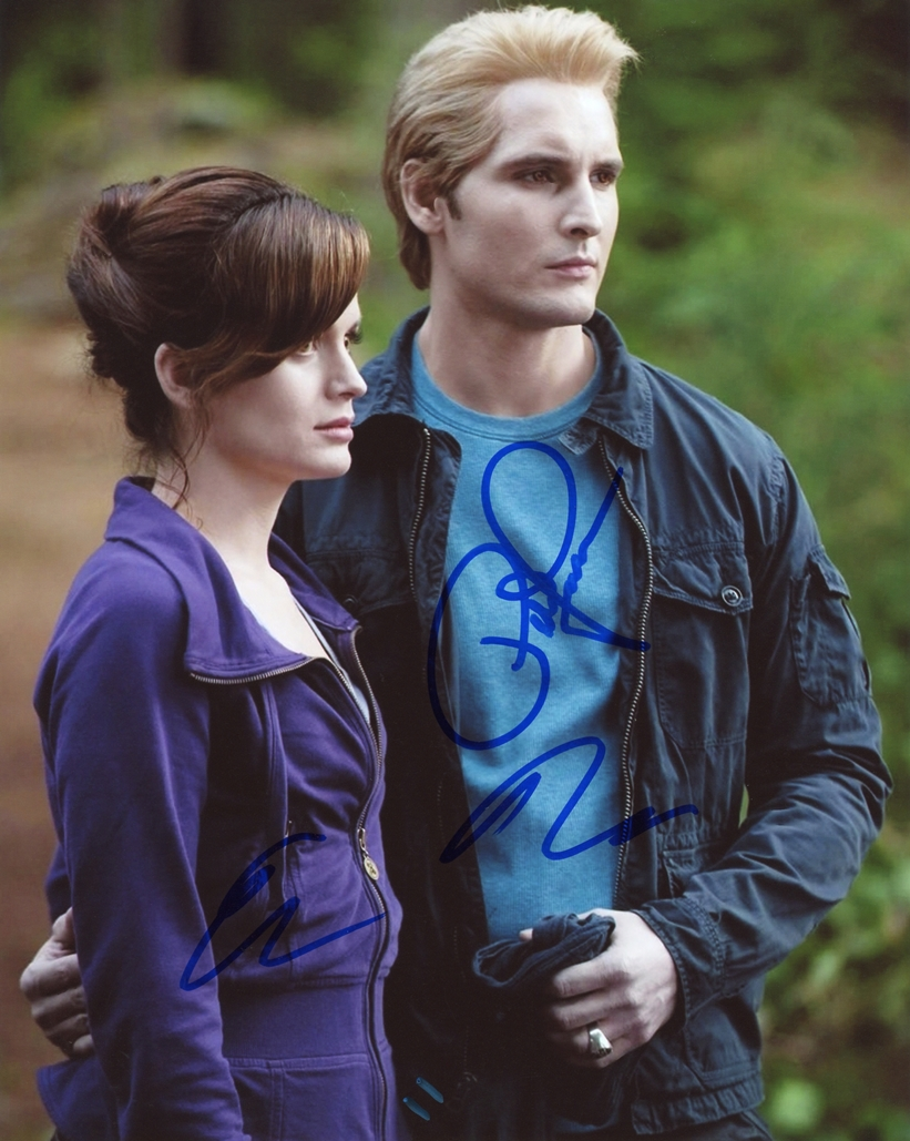 Peter Facinelli & Elizabeth Reaser Signed Photo