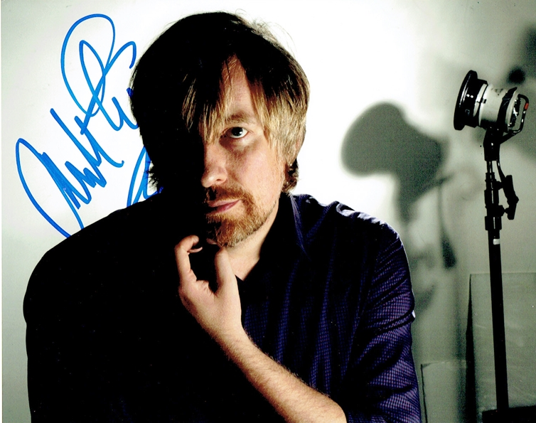 Morten Tyldum Signed Photo