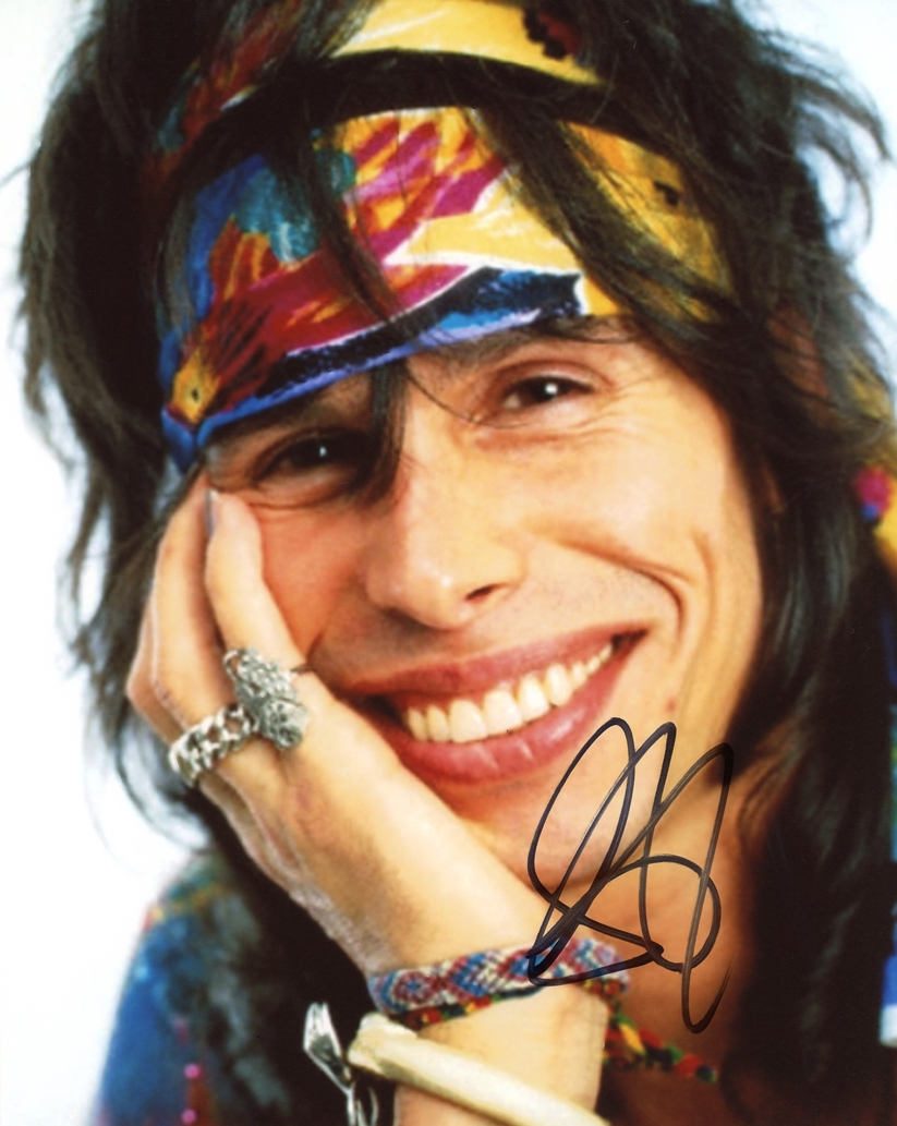 Steven Tyler Signed Photo
