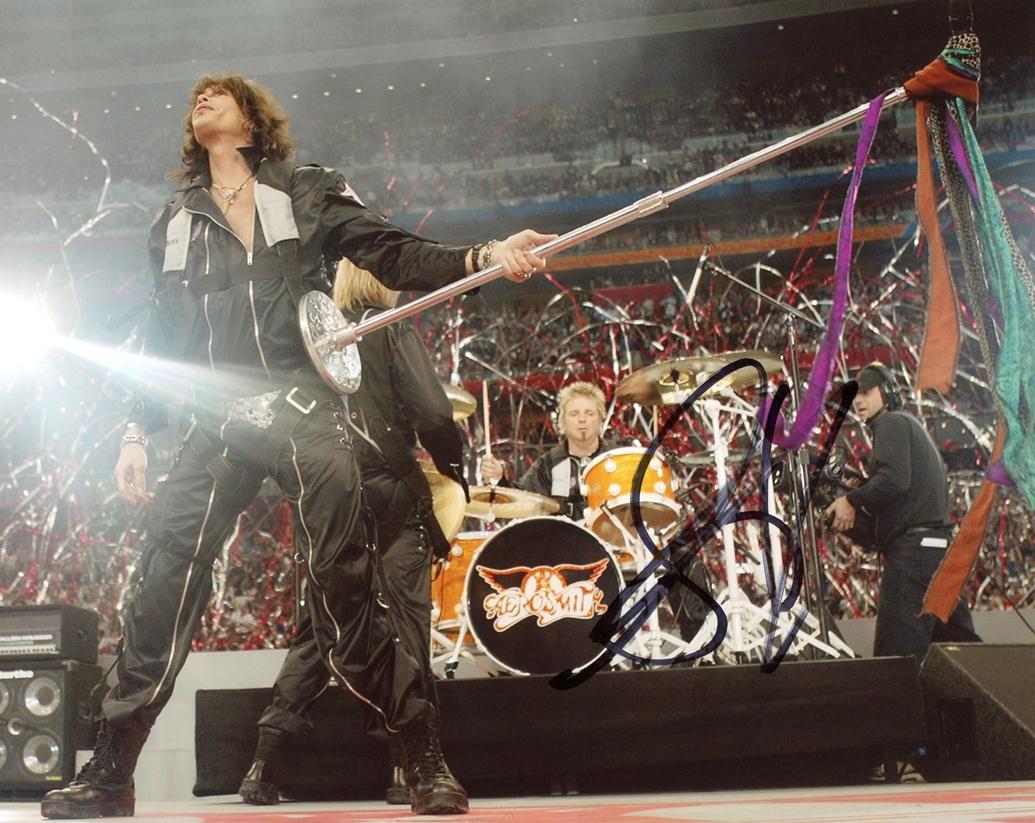 Steven Tyler Signed Photo
