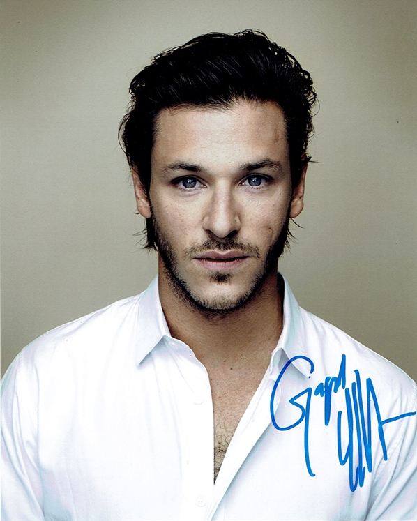 Gaspard Ulliel Signed Photo