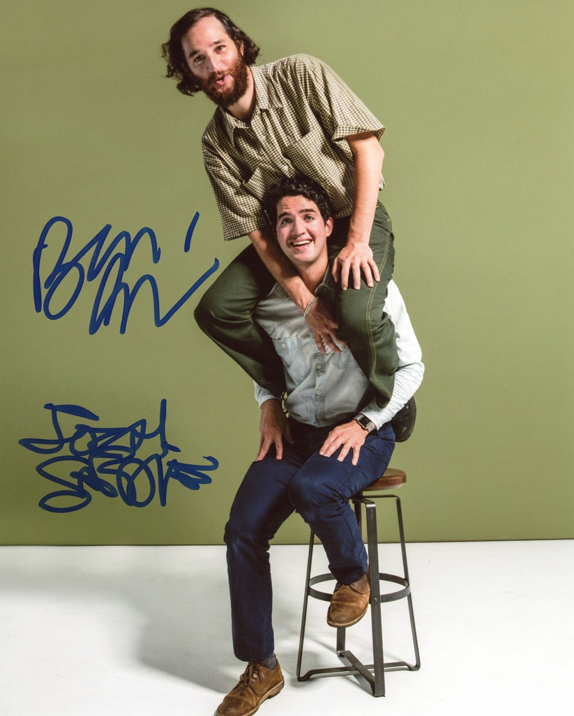 Safdie Brothers Signed Photo