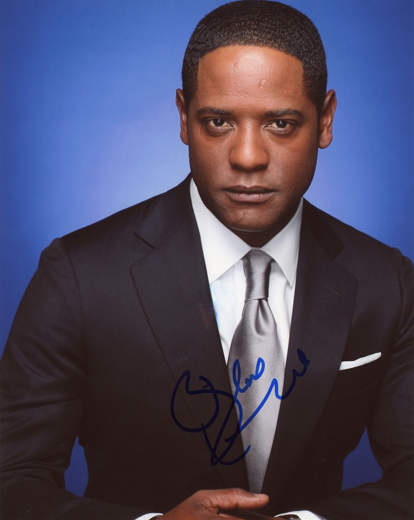 Blair Underwood Signed Photo