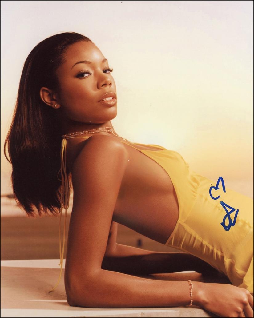 Gabrielle Union Signed Photo