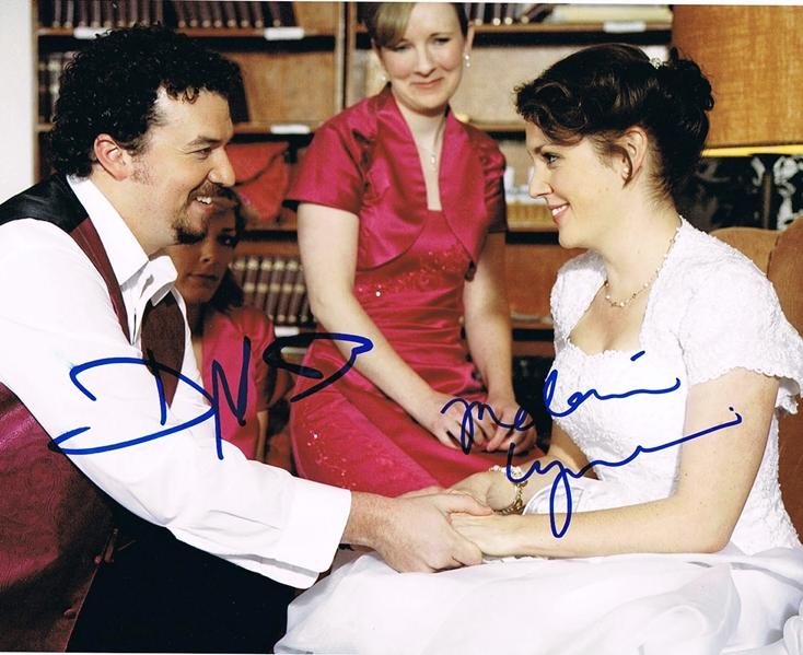 Danny McBride & Melanie Lynskey Signed Photo