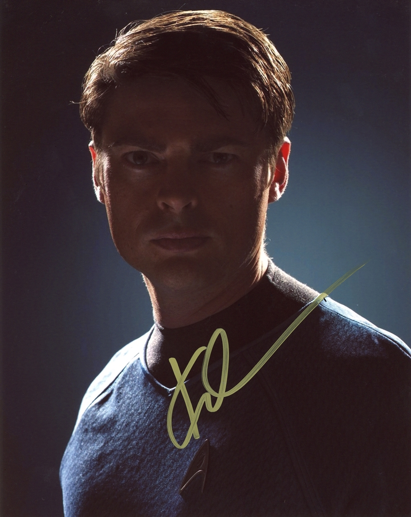 Karl Urban Signed Photo