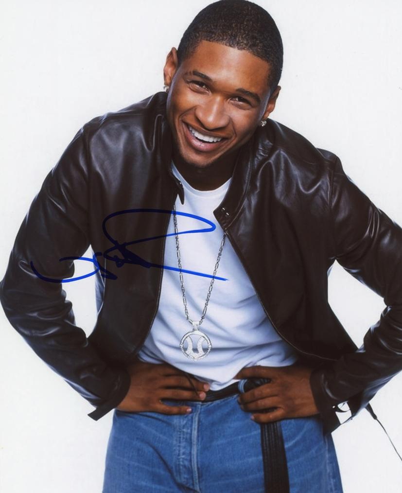Usher Raymond Signed Photo