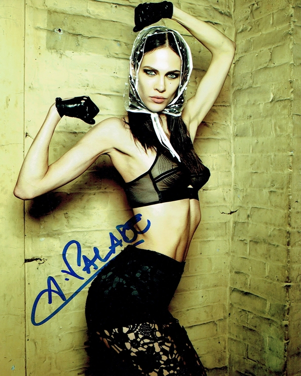 Aymeline Valade Signed Photo