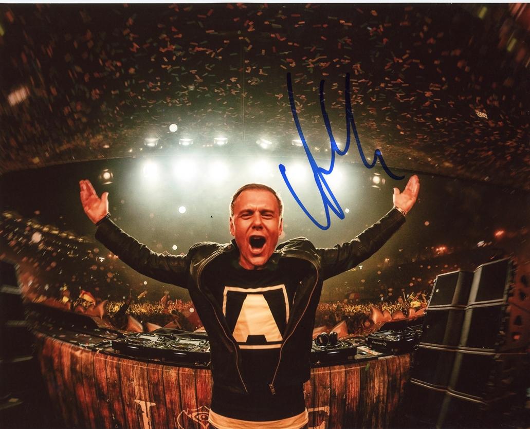 Armin van Buuren Signed Photo