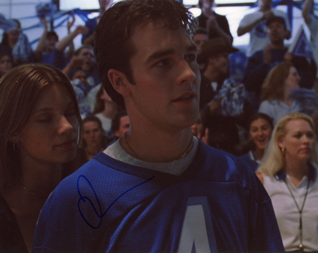 James Van Der Beek Signed Photo