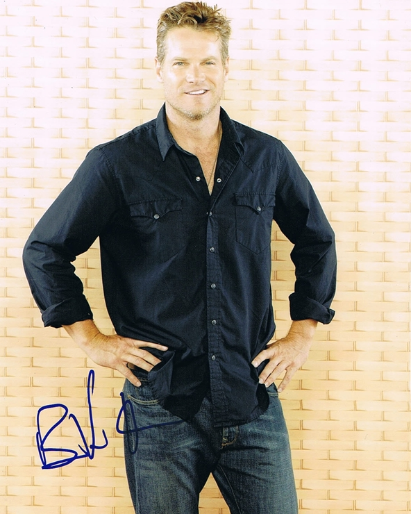 Brian Van Holt Signed Photo