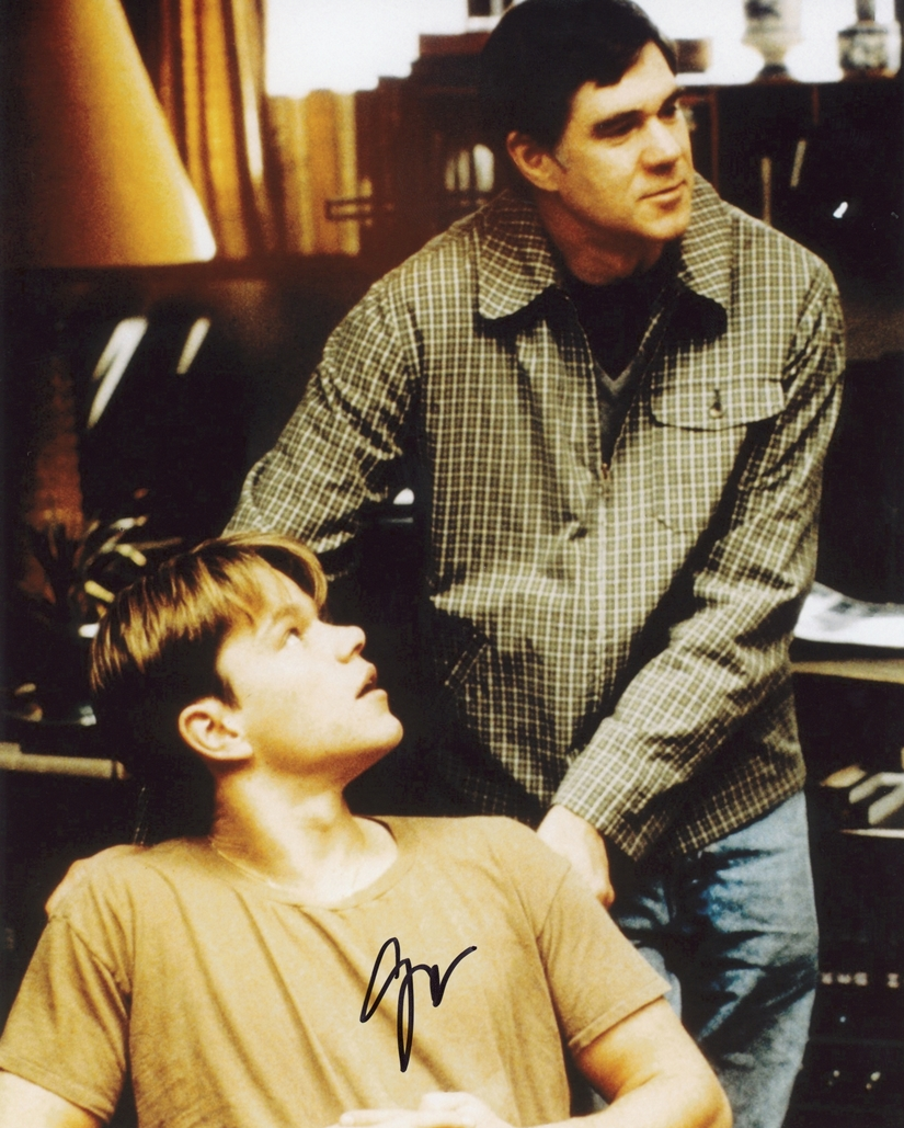 Gus Van Sant Signed Photo