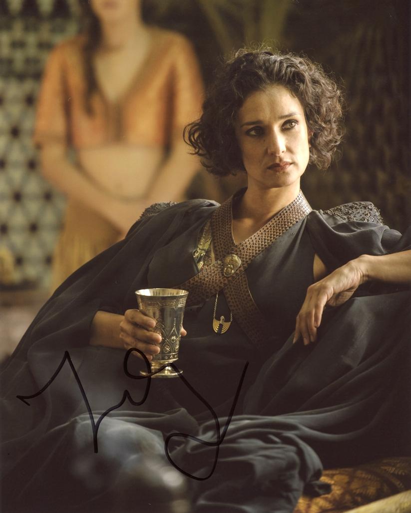 Indira Varma Signed Photo