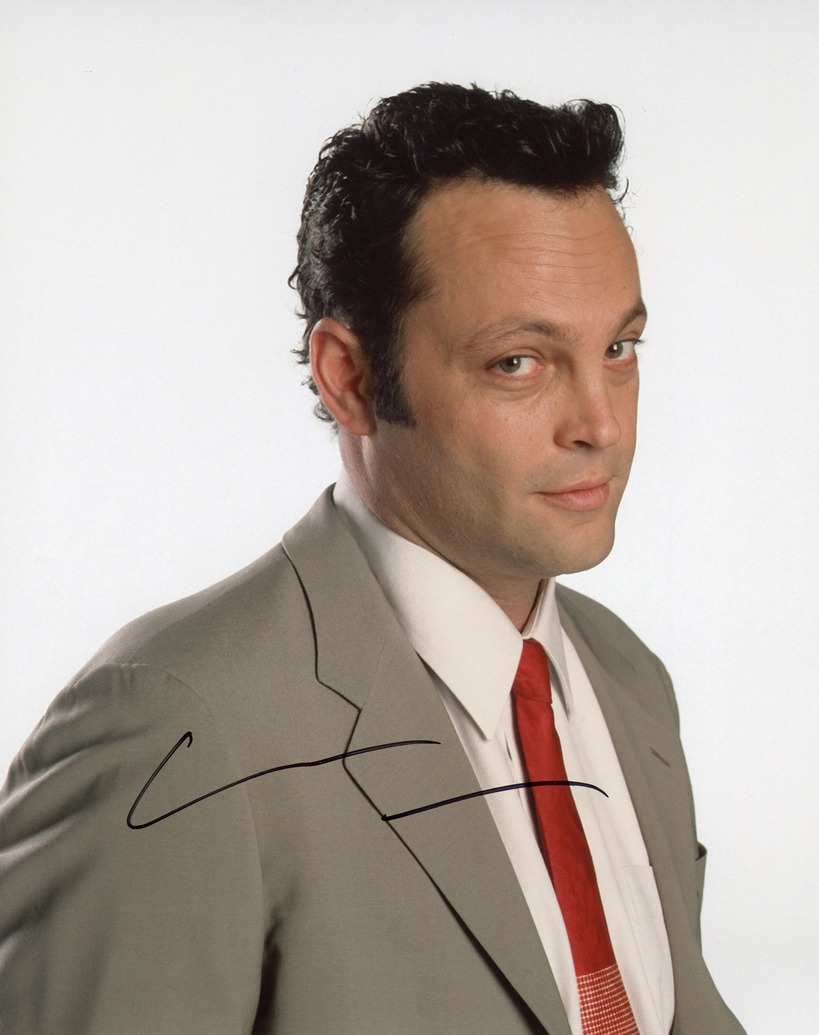Vince Vaughn Signed Photo