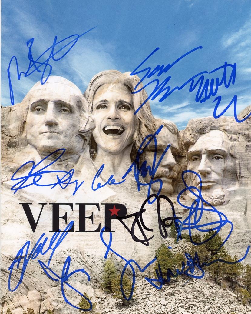Veep Signed Photo