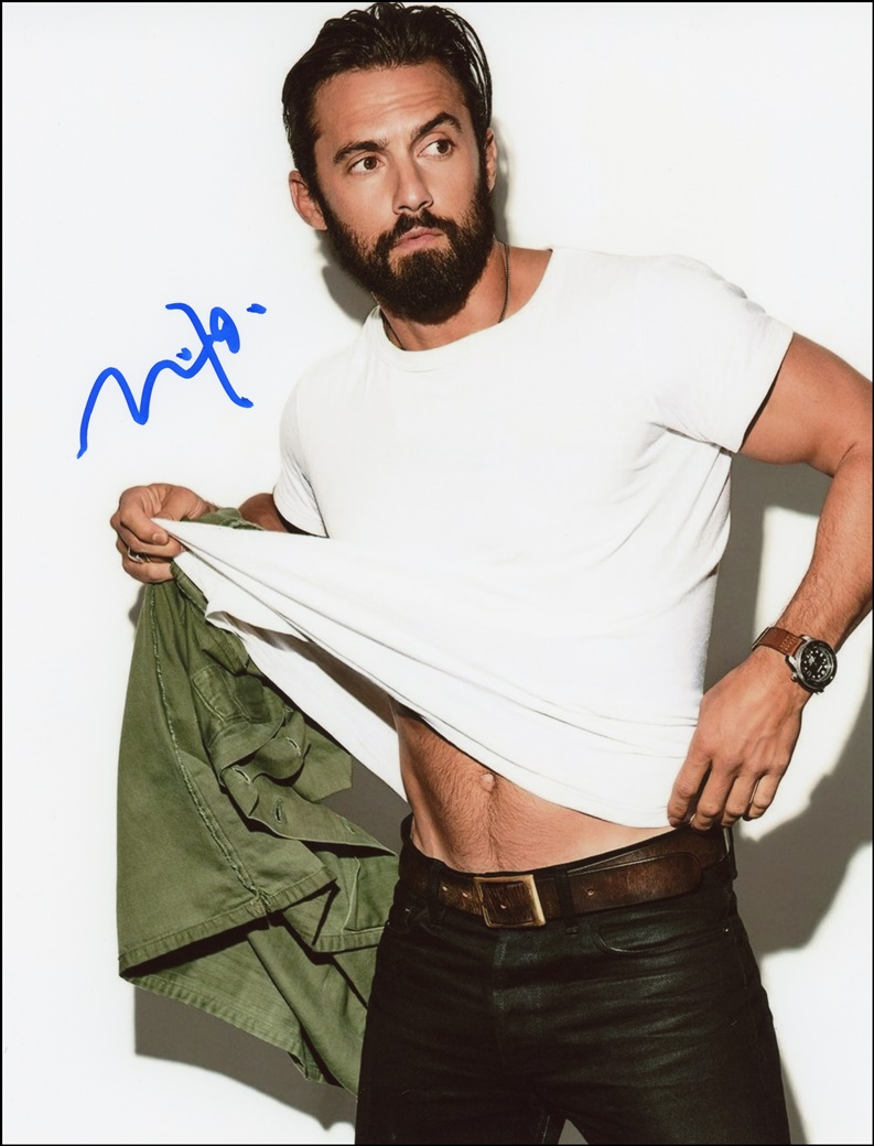 Milo Ventimiglia Signed Photo