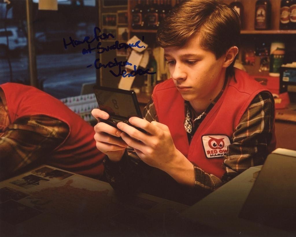 Graham Verchere Signed Photo