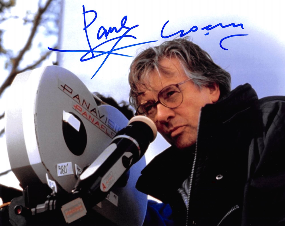 Paul Verhoeven Signed Photo