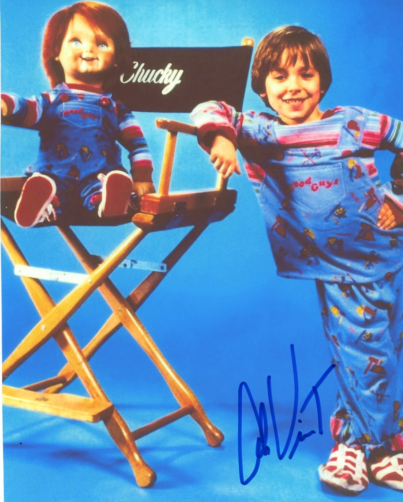Alex Vincent Signed Photo