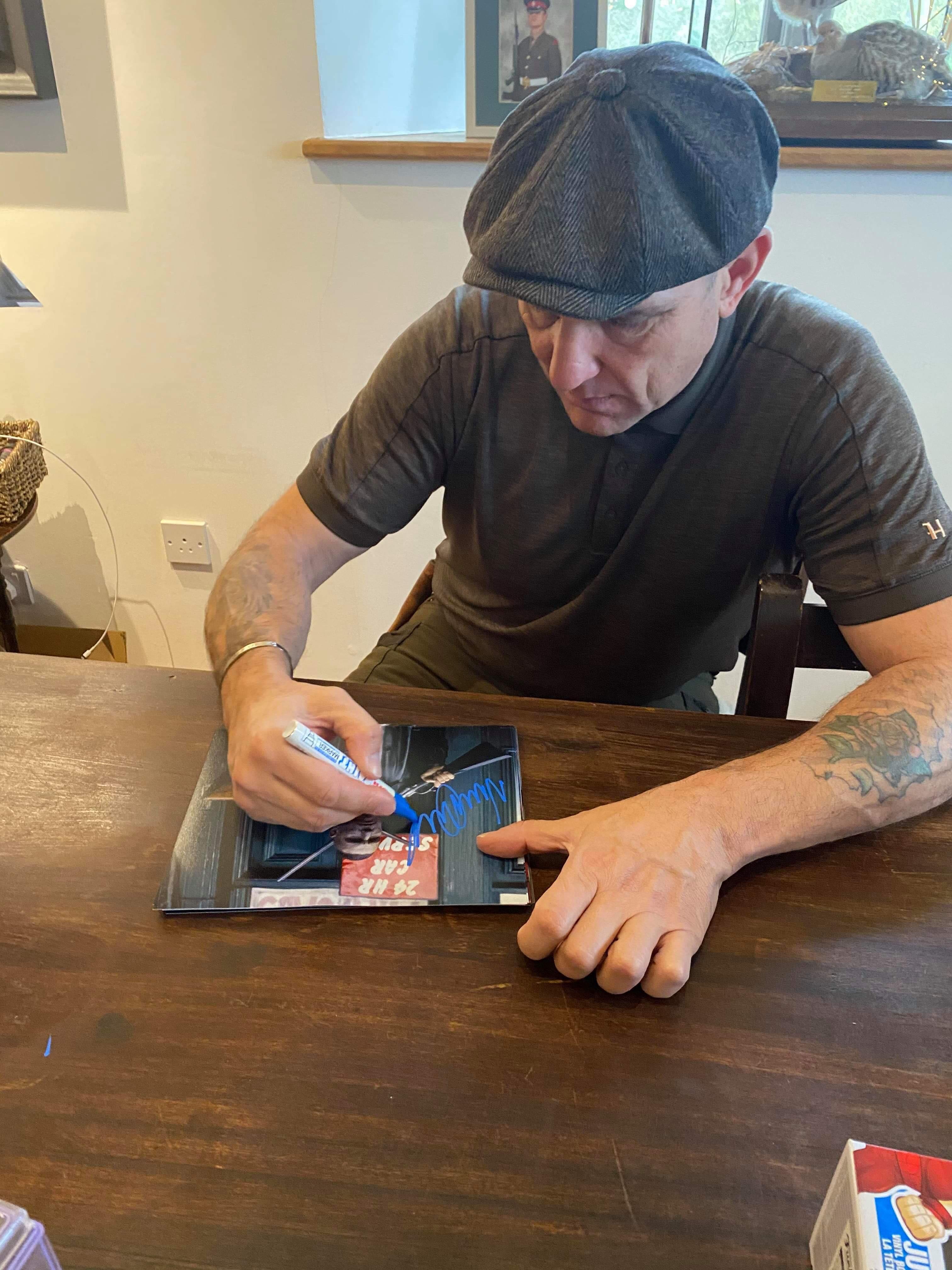 Vinnie Jones Signing Proof