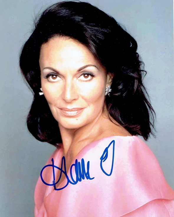 Diane Von Furstenberg Signed Photo