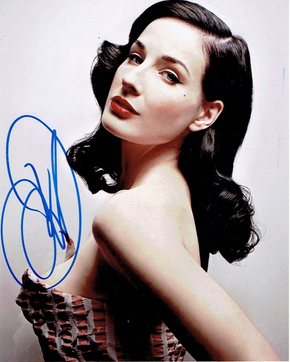 Dita Von Teese Signed Photo