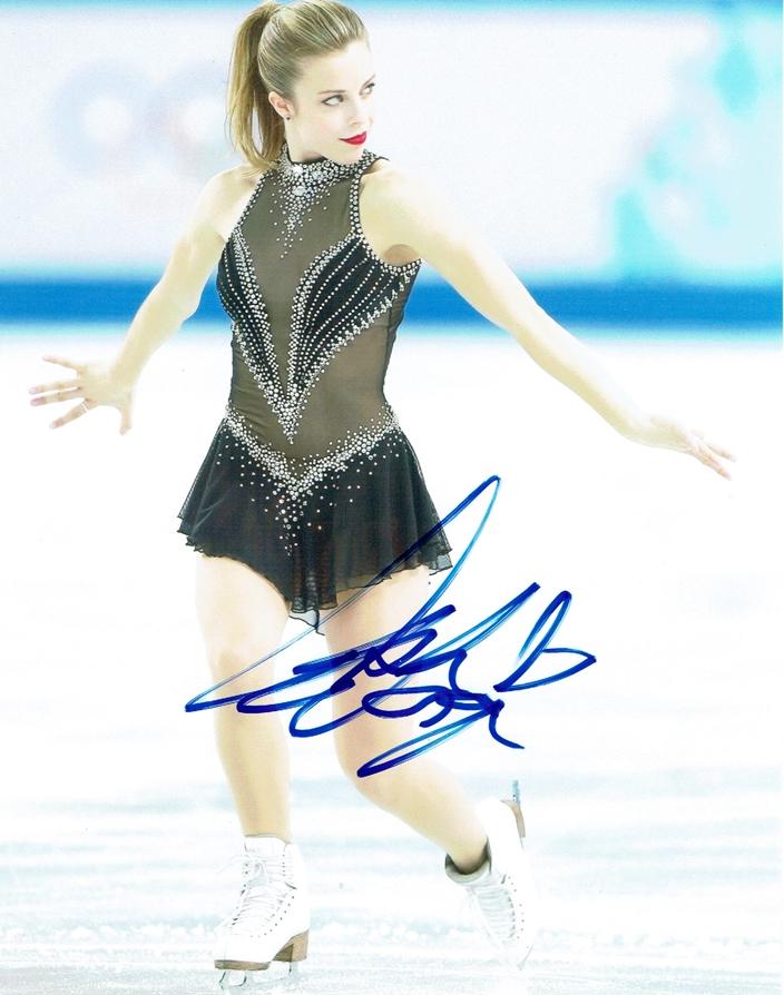 Ashley Wagner Signed Photo