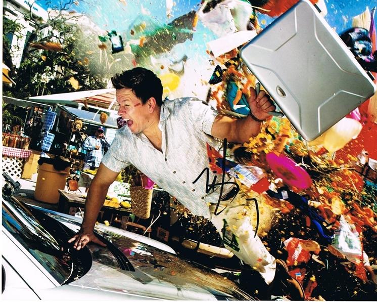 Mark Wahlberg Signed Photo