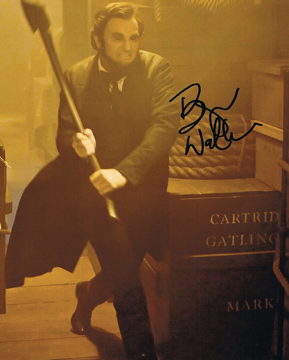 Benjamin Walker Signed Photo
