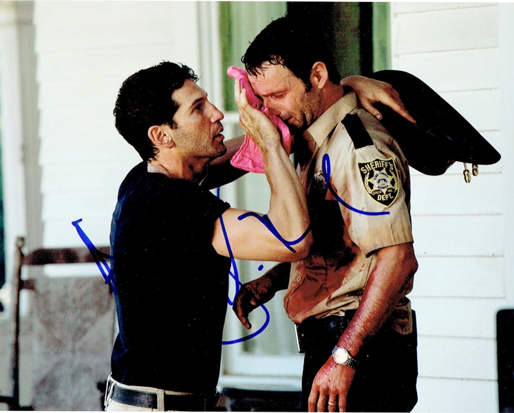 Andrew Lincoln & Jon Bernthal Signed Photo