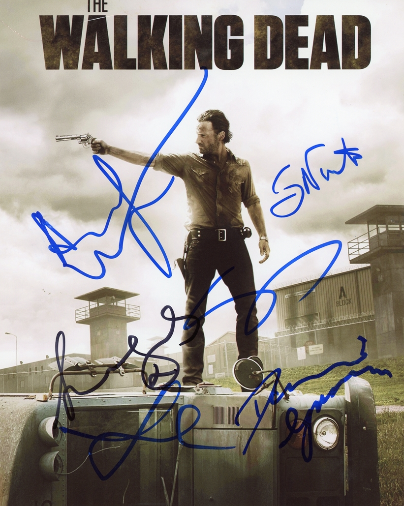 The Walking Dead Signed Photo