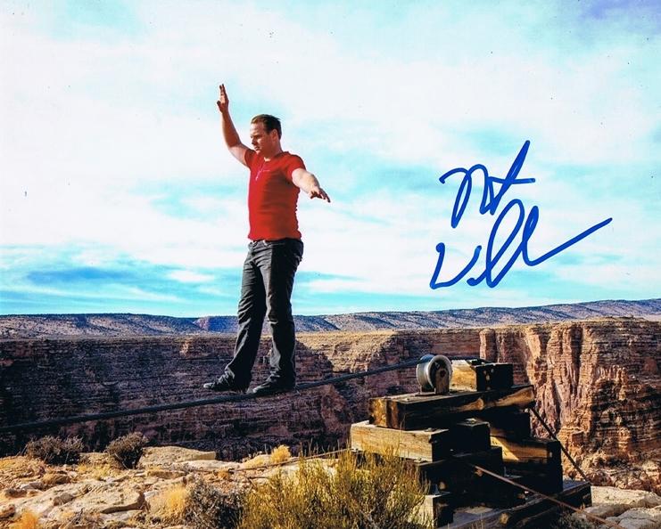 Nik Wallenda Signed Photo