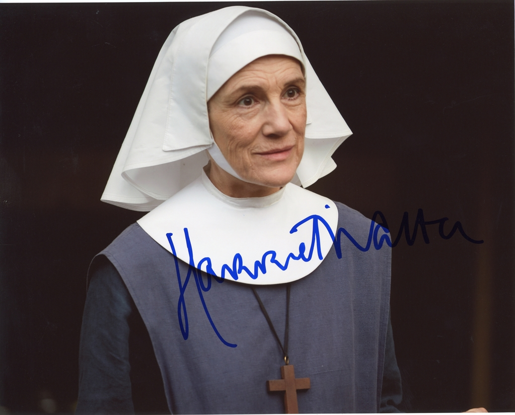 Harriet Walter Signed Photo