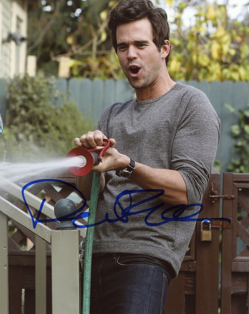 David Walton Signed Photo
