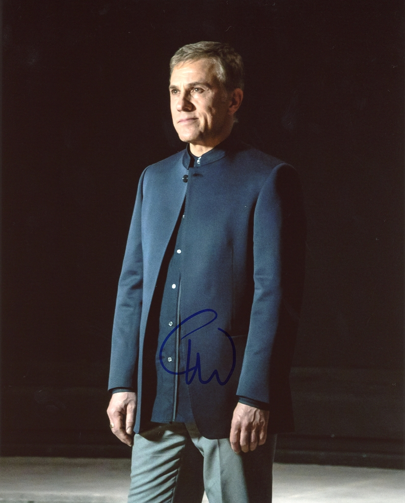Christoph Waltz Signed Photo