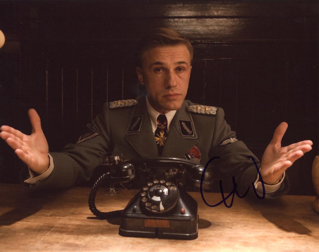 Christoph Waltz Signed Photo