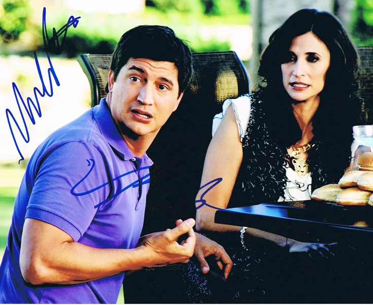 Ken Marino & Michaela Watkins Signed Photo