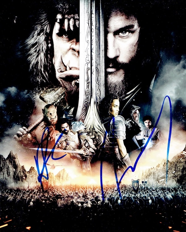 Travis Fimmel & Rob Kazinsky Signed Photo