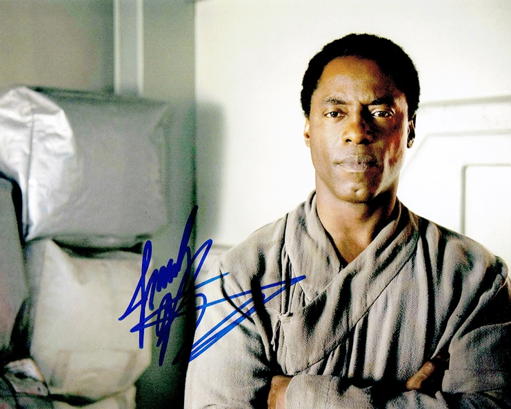 Isaiah Washington Signed Photo