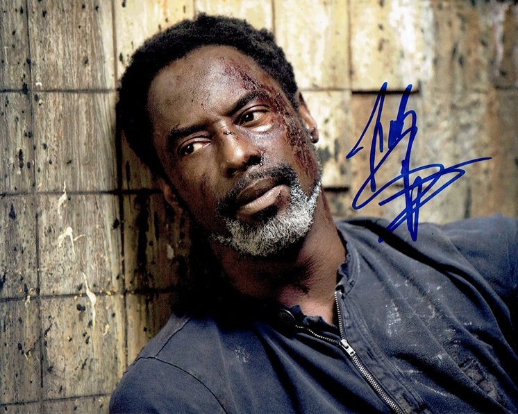 Isaiah Washington Signed Photo